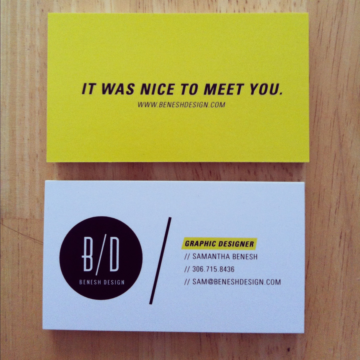 Graphic Designer Business Cards Typography Viewing Gallery